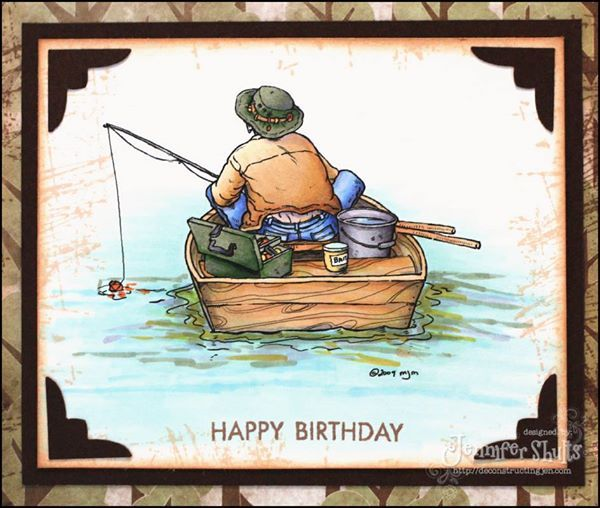 95 best birthday wishes images on pinterest happy for Fishing birthday wishes