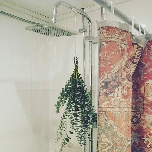 Morning 🙌❤ #badrum #eukalyptus #dusch #badrumsinspo