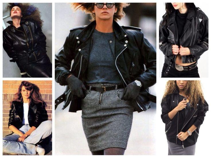 кожаные куртки 80х