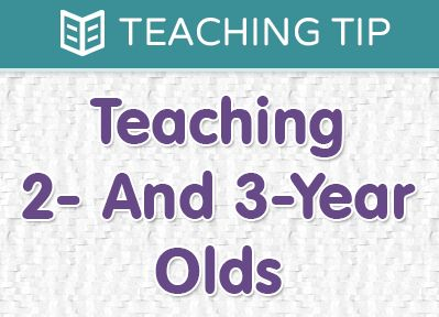 Teaching 2- And 3-Year Olds | The Super Simple Learning Resource Center