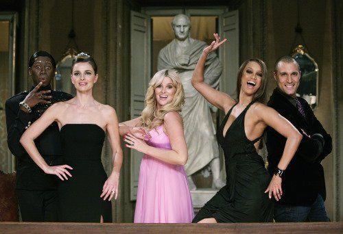 Still of Tyra Banks, Paulina Porizkova and Whitney Thompson in America's Next Top Model (2003)