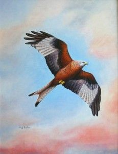 'Flying Free' by Pat Carlton
