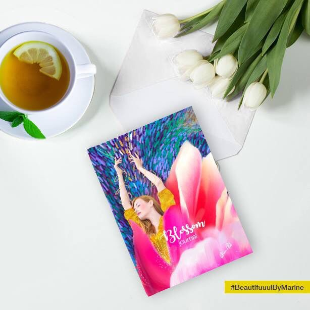 Sunshine Blossom Hardcover journal  created by @BeautifuuulByMarine Available here: http://rdbl.co/2n7hYBj