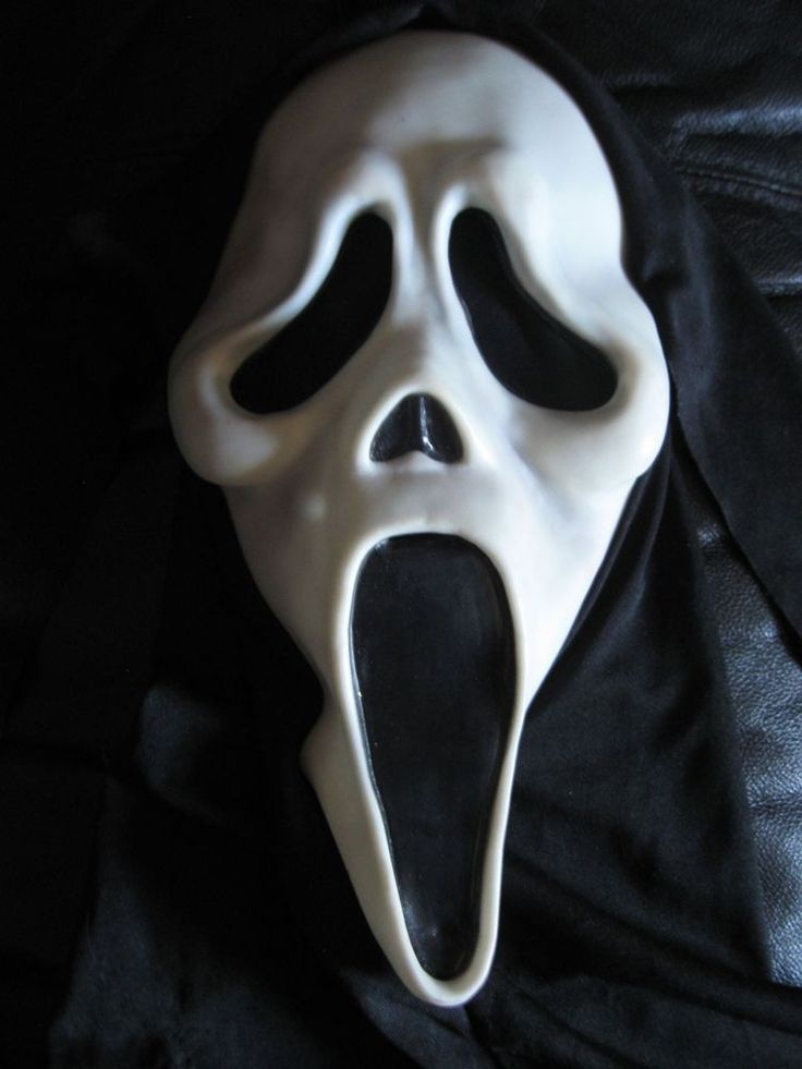 Vintage Scream Mask (Fun Word Div) *Fearsome Faces | Words ...