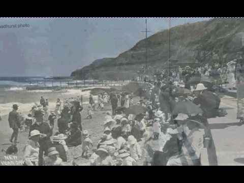 newcastle beach 1909 new years day
