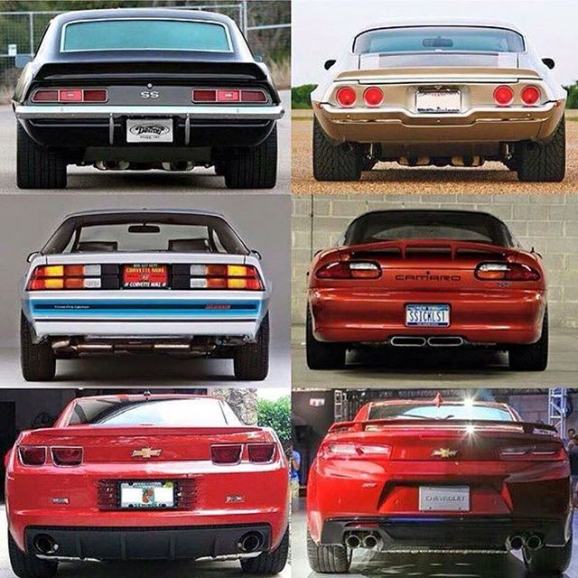 1st Generation 6th Generation Camaros I Just Cant Seem