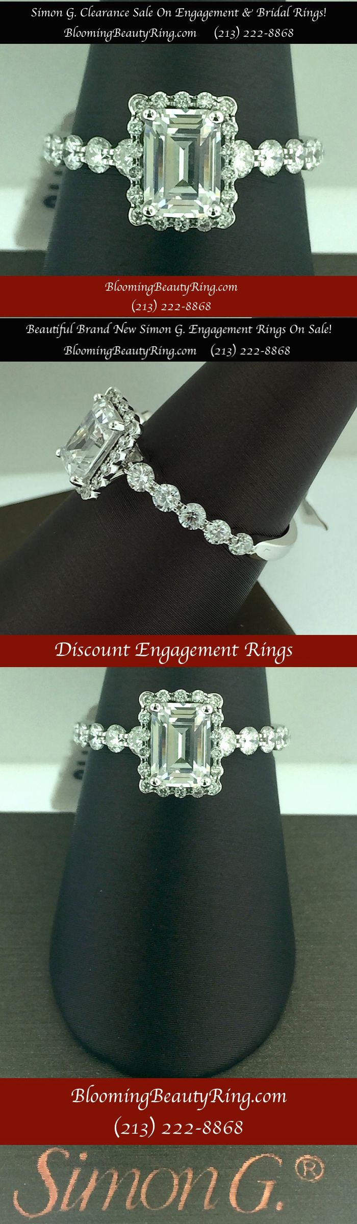 Simon G. Bridal Rings and Engagement Rings Clearance Sale…