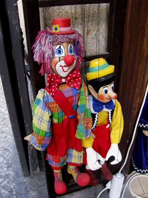 Marionettes - a traditional art form in Prague