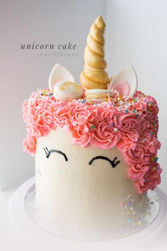 How to Decorate a Unicorn Cake - Annie Bakes
