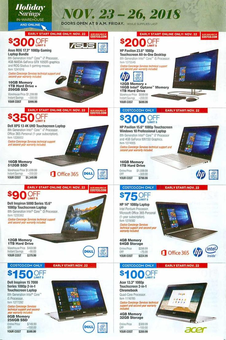 Costco Black Friday 2018 Ads Scan, Deals and Sales See the