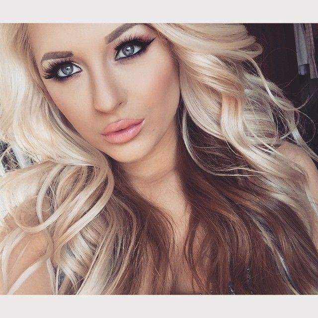 Best 25+ Two Toned Hairstyles Ideas On Pinterest