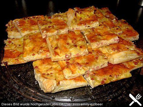 Lauch-Ecken http://www.chefkoch.de/rezepte/596351159276450/Herzhafte-Lauchecken.html