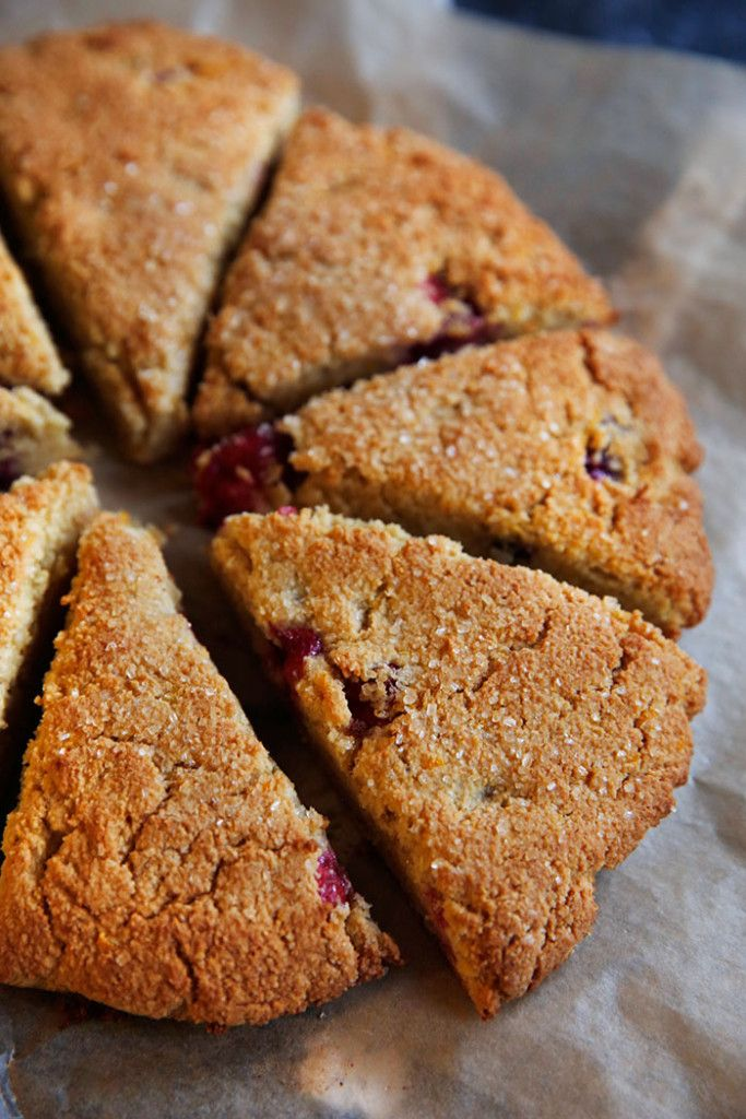 These Cranberry Orange Scones are the perfect holiday treat to wake up to! They are bursting with fresh cranberries and refreshing hints of orange zest. Plus, they are gluten-free, grain-free, and dairy-free! Life has been busy, you guys! But in the best way possible. I've been cranking out recipes for my cookbook with a messy routine …