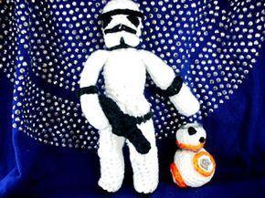 Trefft BB-8 – kostenlose Häkelanleitung für alle Fans von Star Wars! – #alle #…