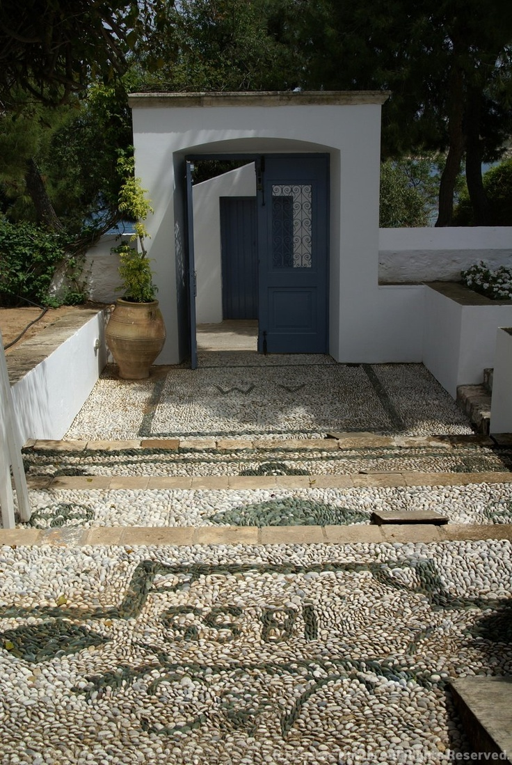 Traditional house yard - Spetses Island / by Kostas Hatzis