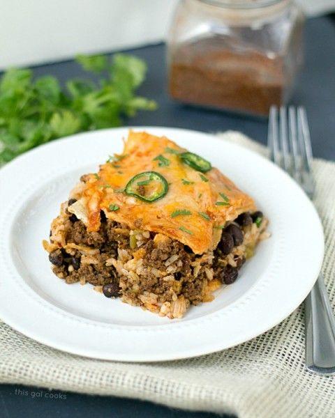 Taco Lasagna | Recipe