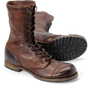 Paratroopers in brown  Would love these and the tanker boots   (Wonder how they go in the cold weather .... )  くたびれブーツ