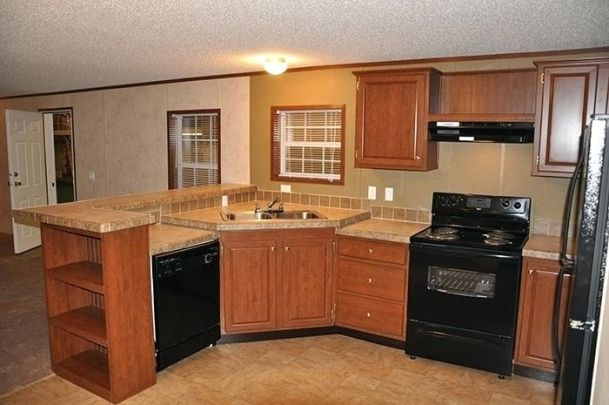 Mobile Home Kitchen Cabinets Discount Remodeling Mobile Homes Modern Kitchen Remodel Diy Kitchen Remodel