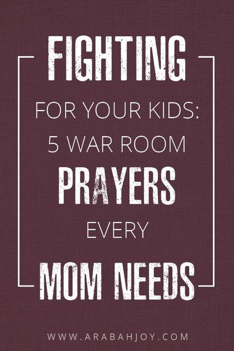 So you know that praying for your kids is one of the best things you can do as a...