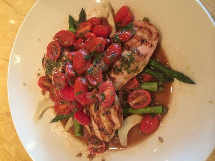 Tuscan Chicken- Cheesecake Factory under 590 calories