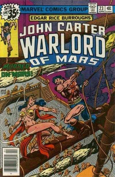 21 best marvel comics john carter warlord of mars images on discovered by a space flier john carter and dejah thoris must surrender or face death fandeluxe