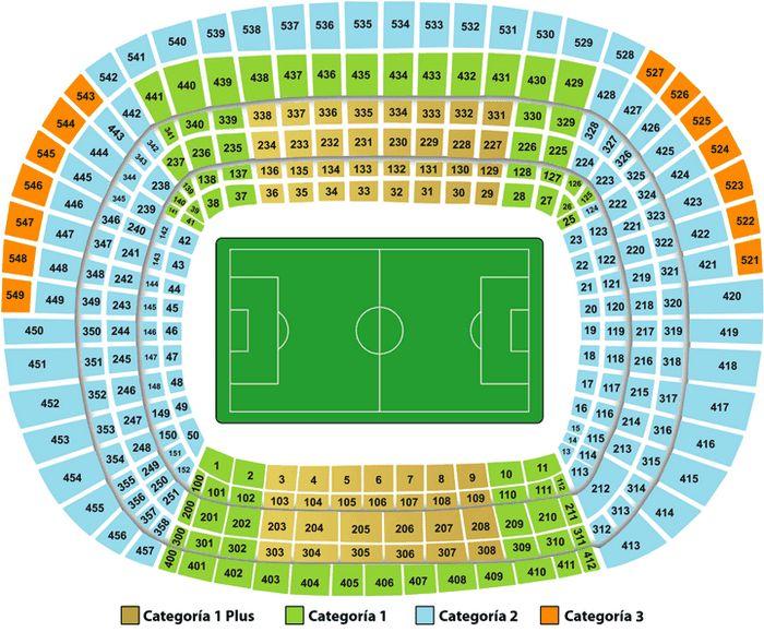 Купить билеты на футбол матчи Эль Классико El Clasico, Реал Мадрид Real Madrid - ФК Барселона FC Barcelona . План Стадиона Камп Ноу Camp Nou в Барселоне.