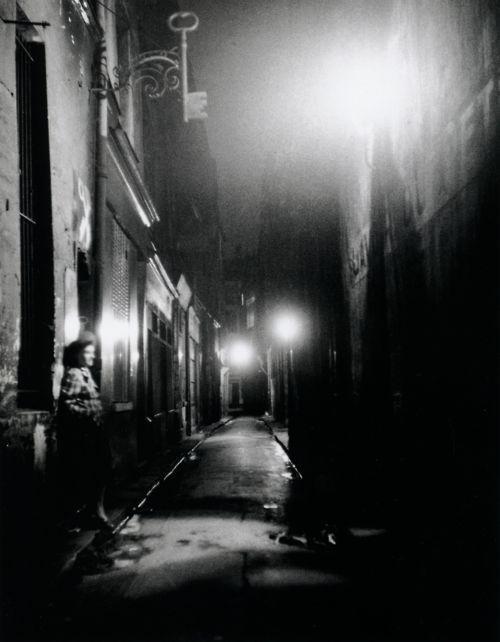Izis    Rue Brantôme    Paris, 1947    From Izis: Captive Dreams - Photographs, 1944-80