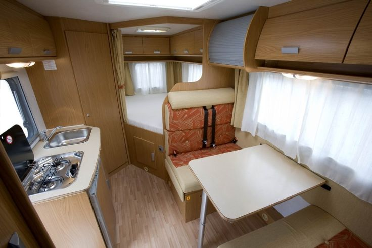 comfort 4 berth - motorhome rental in Portugal.