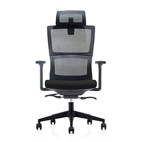 Hizljj Ergonomic Office Desk Chair With Adjustable Armrest Lumbar Support Headrest And Breathable Skin Frien Swivel Office Chair Ergonomic Chair Office Chair