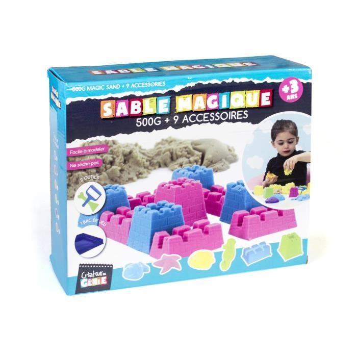 Desde KidsHome os presentamos la gran novedad de este verano, los sets de arena mágica con la que los niños podrán moldear y crear todo lo que se les ocurra como si estuvieran en la playa dando rienda suelta a su imaginación.