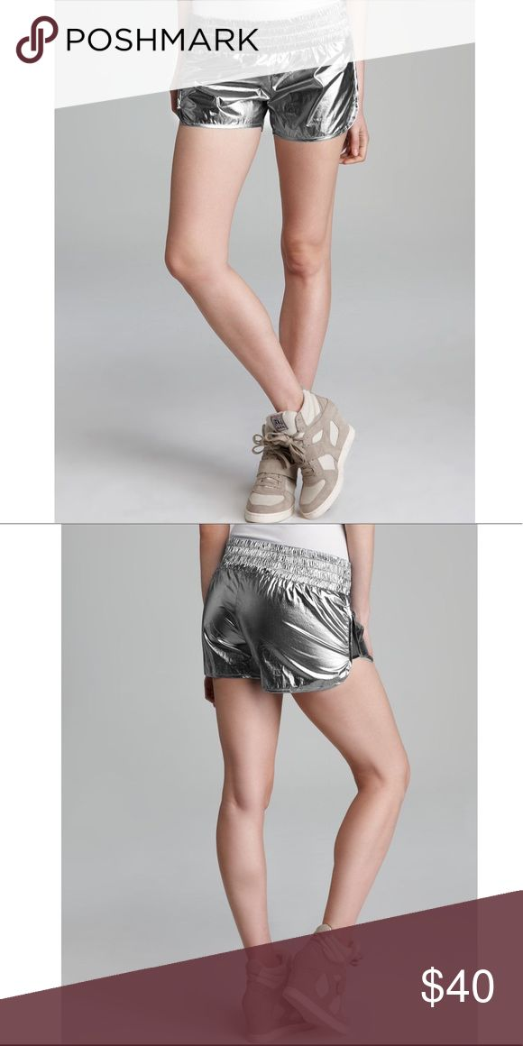 Theory Women's Hye Decathlon Metallic Shorts Perfect condition. Purchased at Bloomingdales but never got to wearing them Theory Shorts