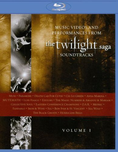Music from The Twilight Saga Soundtracks: Videos and Performances, Vol. 1 [Blu-ray] [English] [2010]