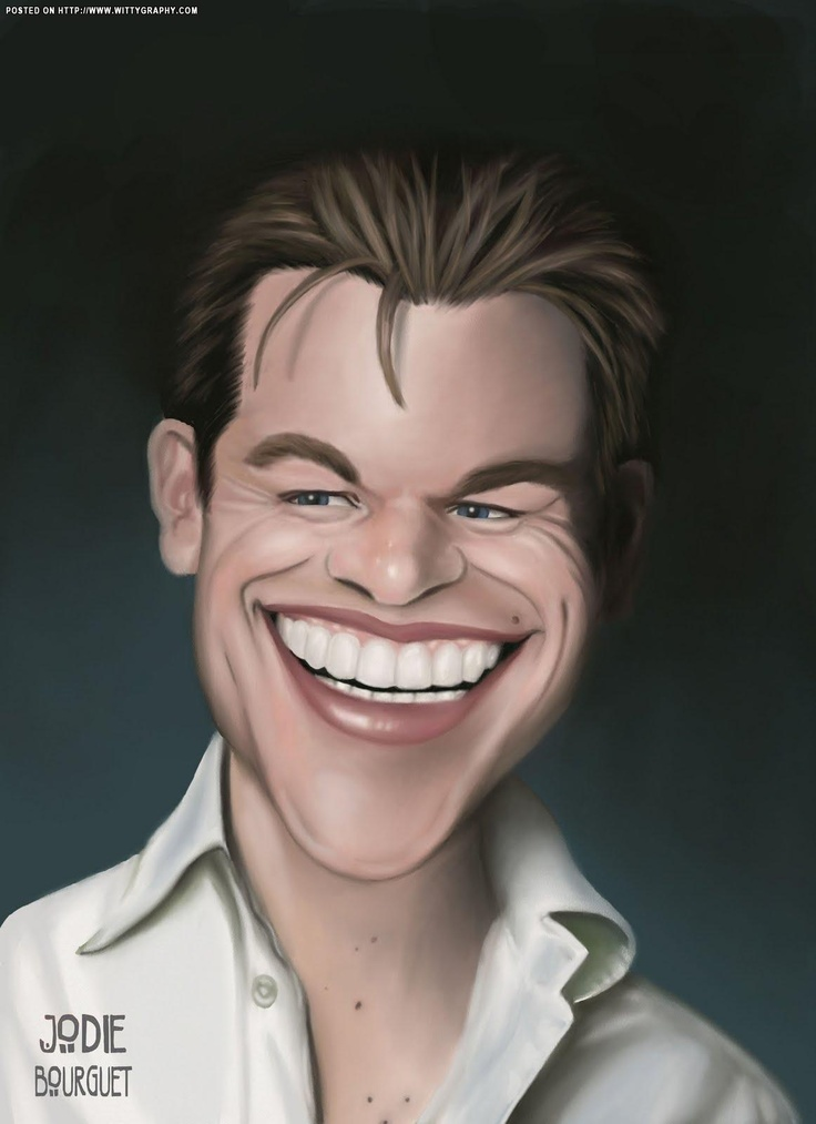 Matt Damon:  Did you have to throw your own cause in with the ALS cause?  Selfish.
