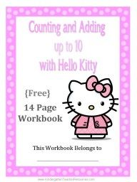 Hello Kitty Maths Workbook: If like mine your kids love cats or Hello Kitty herself you may find this useful for teaching basic maths