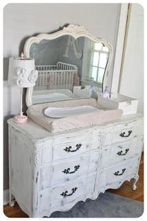 beautiful Dresser = Changing Table