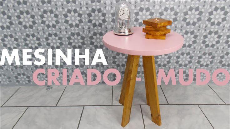 MESINHA CRIADO-MUDO | DIY Móveis Reforma Quarto