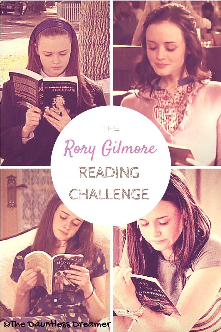 The Rory Gilmore Reading Challenge - complete list of 340 books referenced/read over 7 seasons.