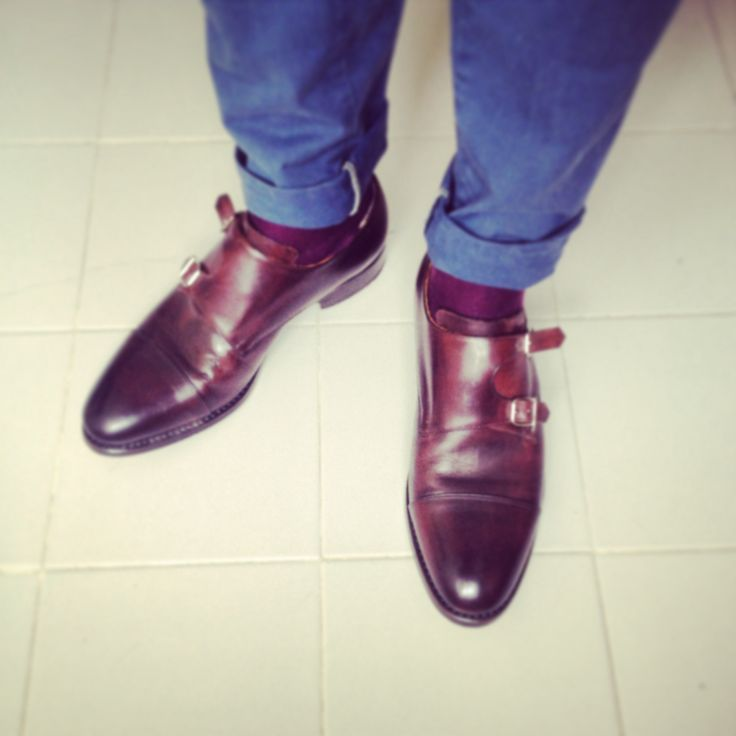 Classy Double Monks and Socks