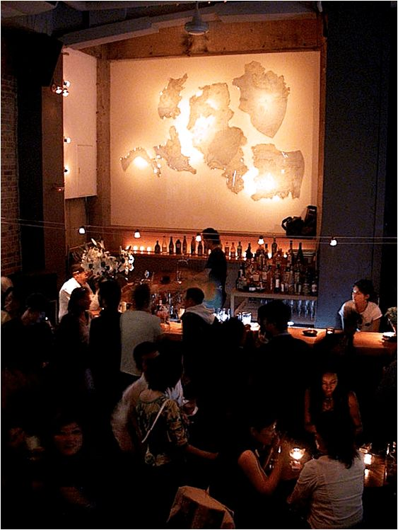 """1993-2002 Minami-Aoyama, Tokyo """"BLUE"""" was amainstay of the Nu-Jazz club and modern art scene in Tokyo for 10 years. Multi-level Blue featured an art gallery lounge, two bars, and a s…"""
