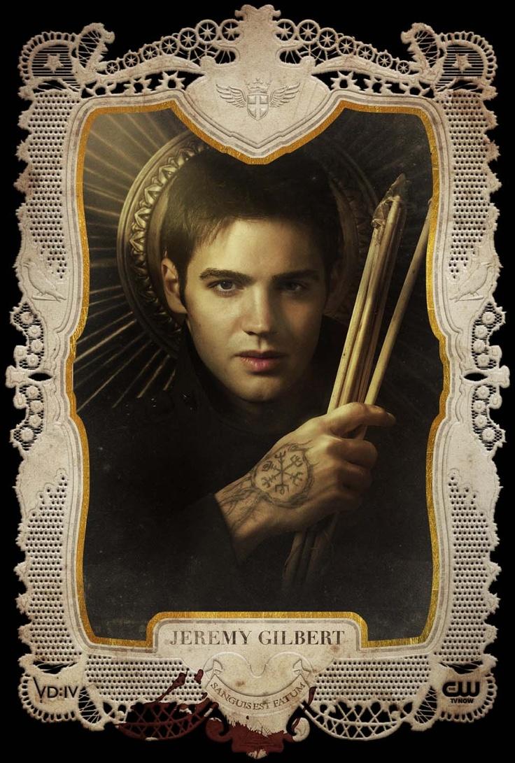 Jeremy Gilbert Holy Card Season 4