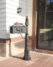 Classic Decorative Cast Aluminum Mail Box Mailboxes by Better Box Mailboxes(China)
