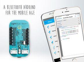 LightBlue Bean+ es una placa compatible con Arduino con una cualidad especial: se puede programar de forma inalámbrica utilizando un terminal Bluetooth.