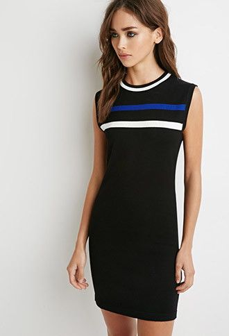Striped Sweater Dress | Forever 21 - 2000154328