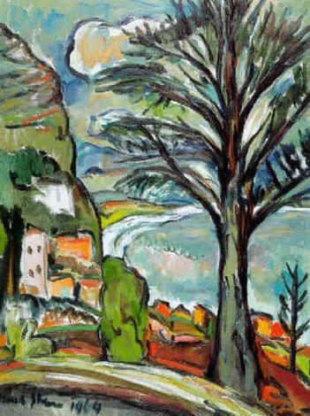 Bay tree by Irma Stern