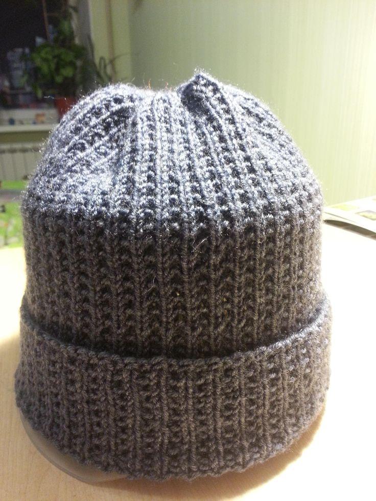 Видео мастер-класс по вязанию спицами зимней шапки узором «жемчужная резинка». Вяжите с нами!