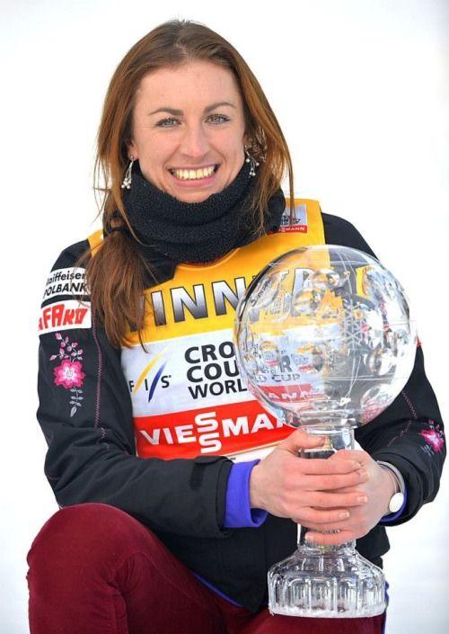 Poland's 2x cross-country skiing Olympic champ Justyna Kowalczyk