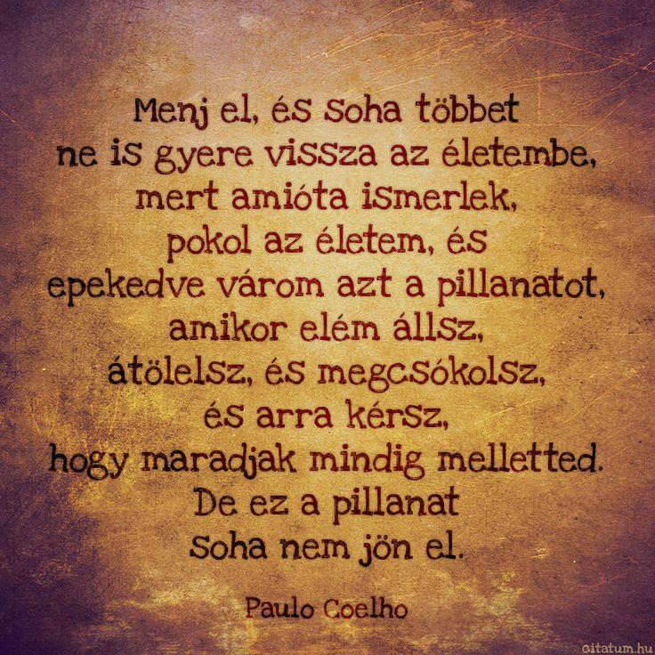 Paulo Coelho idézete a viszonzatlan szerelemről.
