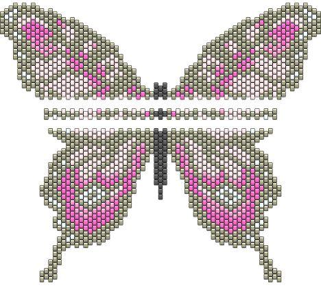 peyote butterfly