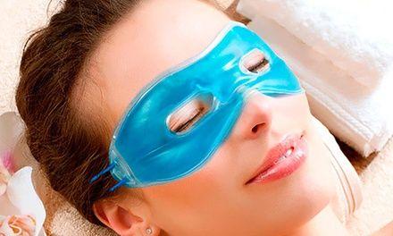 Ce masque gel est conçu pour apaiser les yeux fatigués