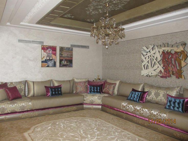 97 best salon marocain moderne images on pinterest for Salon marocain moderne